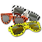 Animal Print Sunglasses Assortment (1 dz) (colors may vary)