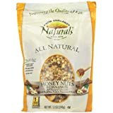 NEW ENGLAND NATURALS Honey Nuts And Cinnamon Granola, 12-Ounce Pouches (Pack Of 6)