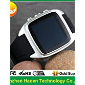 ZiKi Factory Cheapest Android Smart Watch Phone With Android 4.4 3G Smart Watch Android Waterproof Wifi Waterproof...