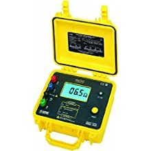 AEMC 4620 4-Point Digital Ground Resistance Tester, 2000 Ohms Resistance, 10mA Current