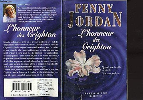 L'honneur des Crighton (Les best-sellers)