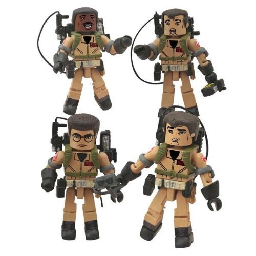 Action Figure 6-99788-21025-3 Ghostbusters Minimates I Love This Town Box Set by Diamond Select Toys by Action Figure