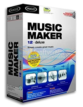 Magix Music Maker 12 Deluxe Bilingual