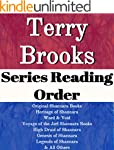 TERRY BROOKS: SERIES READING ORDER: S...