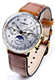[ツェッペリン] ZEPPELIN 腕時計 7039-1 ヒンデンブルク クォーツ 36MM レザーベルト [並行輸入品]