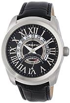 Orefici Unisex ORM8W4401 Classico World Time Slim Classy Sleek World Time Watch