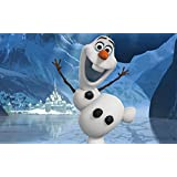 Posterhouzz Movie Frozen Olaf HD Wallpaper Background Fine Art Paper Print Poster