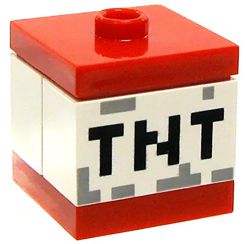 LEGO Minecraft Miscellaneous Accessory TNT Block - 1