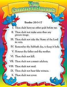 preschool 10 commandments games for teens