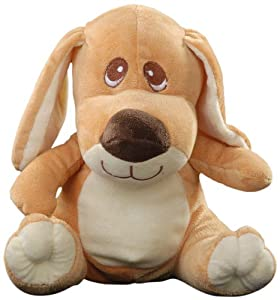 Play n Pets PNP-2936C Sitting Dog (Small), Cream