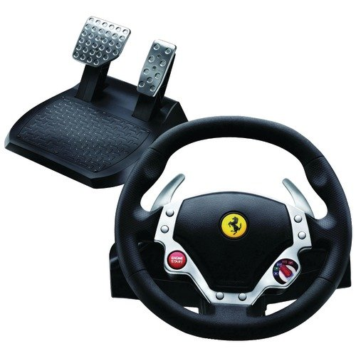 New Excellent Performance (THRUSTMASTER) 2960710 FERRARI(R) F430 FORCE FEEDBACK RACING WHEEL (COMPUTER-EQUIPMENT) High Quality