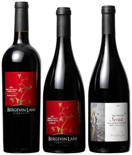 Bergevin Lane Vineyards  Holiday Select Red Wines Mixed Pack, 3 x 750 mL