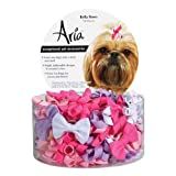 Aria Cotton Grosgrain Ribbon Bella Dog Bows Canister, 70-Pack thumbnail