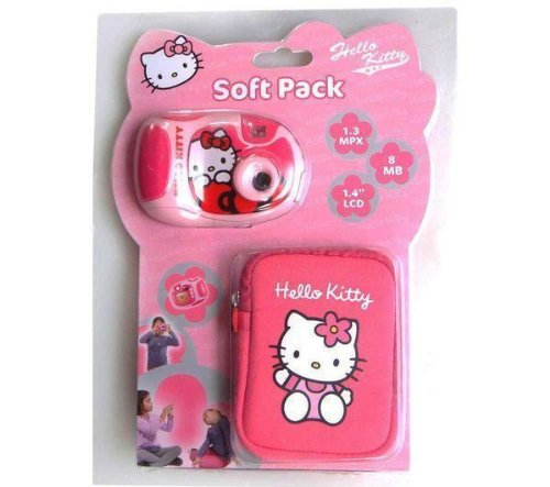 Fotocamera digitale Hello Kitty   custodia   4 pile LR03 (AAA) Alcaline Xtreme Power   2 gratuite Picture