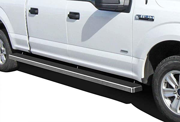 APS iBoard Running Boards 6in Black Custom Fit 2015-2020 Ford F150 SuperCrew Cab Pickup 4-Door /& 2017-2020 Ford F-250 F-350 SuperCrew Crew Cab Nerf Bars Side Steps Side Bars