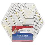 Fons and Porter Hexagon Ruler