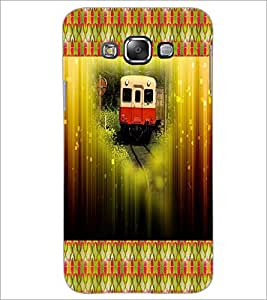 PrintDhaba Train D-6022 Back Case Cover for SAMSUNG GALAXY A8 (Multi-Coloured)