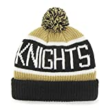 "University Of Central Florida Golden Knights Cuff ""Calgary"" Beanie Hat with Pom - NCAA UCF Cuffed Winter Knit Toque Cap"