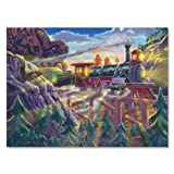 Melissa & Doug Eagle Canyon Railway Cardboard Jigsaw Puzzle (200 pc)