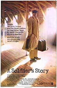A Soldier Story Motion Picture Poster 1984