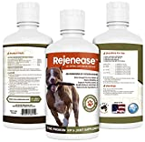 Premium Liquid Glucosamine Hip and Joint Supplement for Dogs - Fast Natural Arthritis Pain Relief and Better Mobility - Extra Strength with Chondroitin MSM and Hyaluronic Acid. Made in USA 32oz. Results in 30 Days or Your Money Back