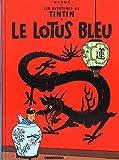 img - for Le Lotus Bleu (Aventures de Tintin) MINI ALBUM (French Edition) (Les Aventures De Tintin) book / textbook / text book