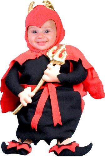 ハロウィン コスプレ キッズ/子供/チャイルド 赤ちゃん・愛らしいリルデヴィルコスチューム(品番59158) FNI-59158