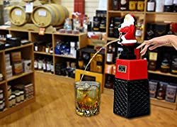Santa Clause Square Beer liquor Dispenser for Christmas gift