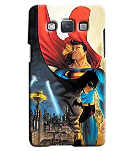 Clarks Superman And Batman Hard Plastic Printed Back Cover/Case For Samsung Galaxy A5