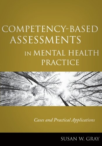Competency-Based Assessments in Mental Health Practice:...