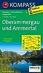 Oberammergau und Ammertal: Wanderkart...