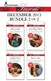 Harlequin Presents December 2013 - Bundle 2 of 2: A Hunger for the Forbidden\Not Just the Bosss Plaything\The Change in Di Navarras Plan\More than a Convenient Marriage?