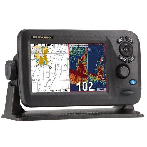 """【並行輸入品】 Furuno GP-1870F 7"""" 7型カラー液晶 GPSプロッタ魚探 Chartplotter/Fishfinder Combo"""