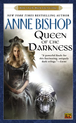 Cover of Queen of the Darkness: The Black Jewels Trilogy 3