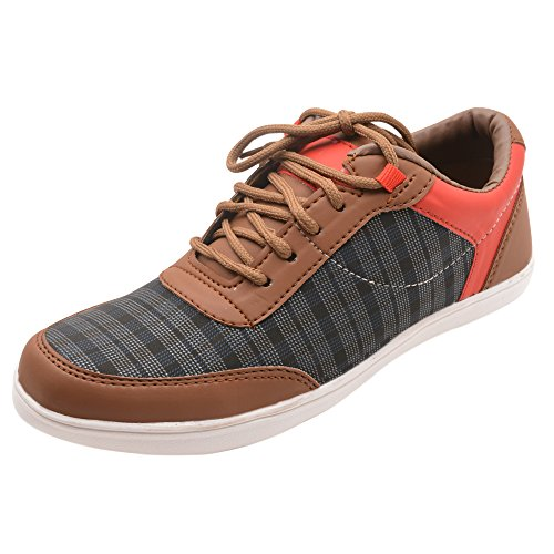 Freedom-Daisy-Mens-Mesh-Brown-SportsRunning-Shoes