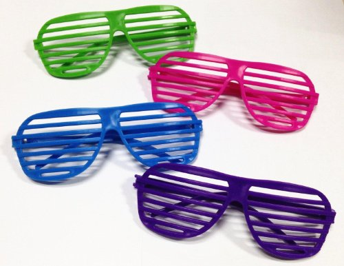 Big Save! Dazzling Toys 80's Sunglasses - Party Favors - 36 Pack (D003/3)