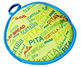 Imusa MEXI-1009 Words Cloth Tortilla Warmer, 10-Inch