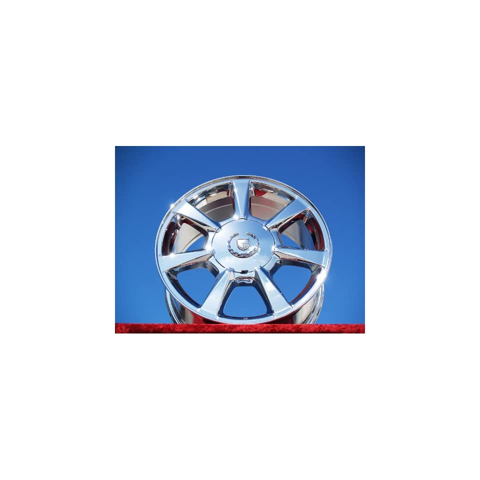 Cadillac CTS Set of 4 genuine factory 18inch chrome wheels