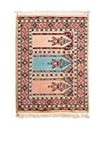 Navaei & Co. Alfombra Kashmir Rojo/Multicolor 91 x 64 cm