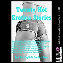 Twenty Hot Erotica Stories: Twenty Explicit Erotica Stories (       UNABRIDGED) by Stacy Reinhardt, Samantha Sampson, Nycole Folk, Maggie Fremont, Kate Youngblood, Tanya Tung Narrated by Vivian Lee Fox, Jennifer Saucedo, Amber Grayson Vayle, Nichelle Gregory, Poetess Connielle Gregory