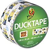 Duck Brand 281973 Despicable Me Printed Duct Tape, 1.88-Inch by 10-Yard, Single Roll