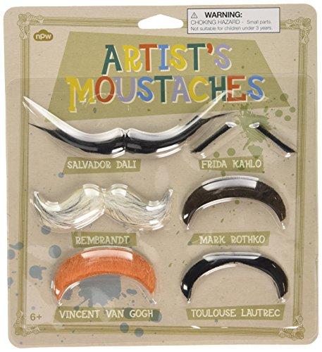 Artist's Moustaches