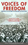 img - for Voices of Freedom: an Oral History of the Civil Rights Movement from the 1950's Through the 1980's by Henry Hampton (31-Dec-1992) Paperback book / textbook / text book