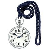 [鉄道時計]Railway Clock 鉄道時計 国産鉄道時計85周年記念モデル クオーツ カーブアクリルガラス SVBR005 メンズ