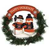 Cincinnati Bengals Team Snowman Wreath at Amazon.com