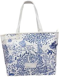 Ruff Casual Stylish Women's Handbag (White)