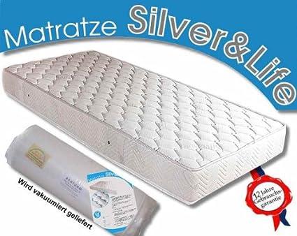 Silver Life Soft Matratze 200 x 190 / 18 cm Höhe H3 Kaltschaum /Latex Matratzen