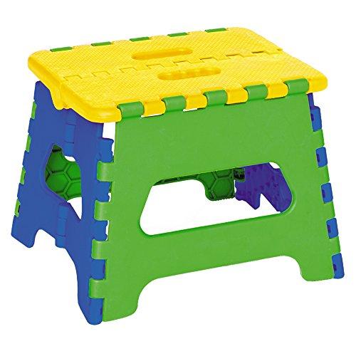 ArtMoon Maja Multicolore Sgabello Pieghevole per i Bambini 24X17X18cm