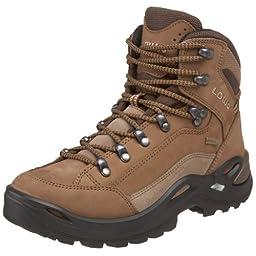 Lowa Women\'s Renegade GTX Mid Hiking Boot,Taupe/Sepia,7.5 M US