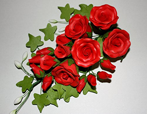 tea-rose-spray-large-red-sugar-flowers